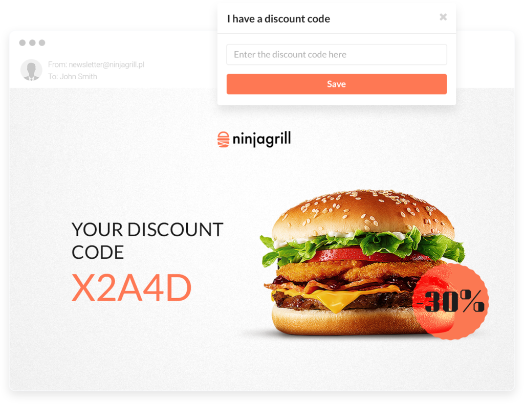 Discount codes - thorough tool to better customer retention