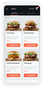 Android restaurant online ordering system