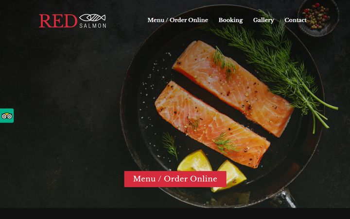 red salmon theme