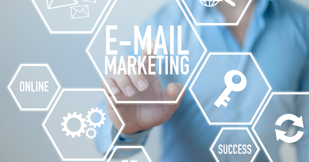 Email marketing vital elements presented in graph